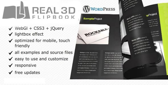 Real3D FlipBook WordPress Plugin AZ Emarketing